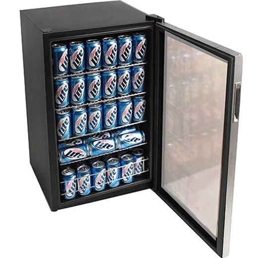 glass door small beverage with glass door whatu0027s in the minifridge - Glass Front Mini Fridge