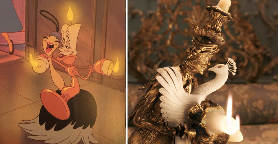 Beauty And The Beast Lumiere And Feather Duster Plumette The Rib Of Brown